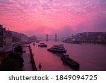 Foggy Sunrise Over The River...