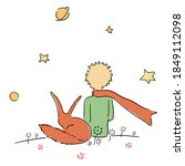 Little Prince Watches Stars...