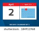 2 april vector day calendar ...