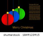 Merry Christmas Background With ...
