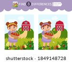 find differences.  educational... | Shutterstock .eps vector #1849148728