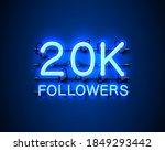 thank you followers peoples ... | Shutterstock .eps vector #1849293442