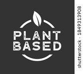 plant based  vegetarian  vegan...   Shutterstock .eps vector #1849313908