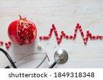 Fruit Pomegranate  Stethoscope...