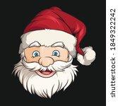 Christmas Santa Claus Face ...