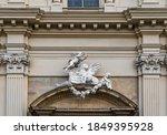 Lion Symbol Of St. Mark On The...