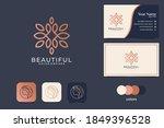 beautiful line art logo design...   Shutterstock .eps vector #1849396528