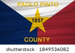 flag of paolo pinto county ... | Shutterstock .eps vector #1849536082