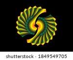 Abstract Fractal Circular...