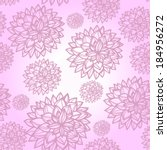 vector seamless pattern with... | Shutterstock .eps vector #184956272