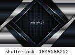 elegant dark background and... | Shutterstock .eps vector #1849588252