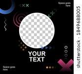 creative social media promotion ...   Shutterstock .eps vector #1849688005