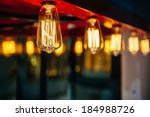 lighting decoration with... | Shutterstock . vector #184988726
