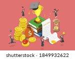 3d isometric flat vector... | Shutterstock .eps vector #1849932622