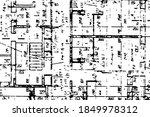 background of an illegible... | Shutterstock .eps vector #1849978312