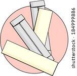 Gum tissue clip art vector gum tissue 9 graphics - Enlever chewing gum tissu ...