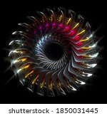 3d Render Of Abstract Art...