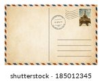 Old Style Postcard Or Envelope...