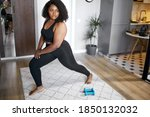 Young Plus Size Black Woman...