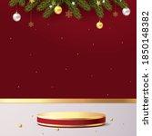 elegant christmas and happy new ... | Shutterstock .eps vector #1850148382