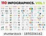 110 vector infographics vol 1....   Shutterstock .eps vector #1850206162