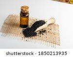 Black Cumin Oil In Small...