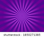 purple sunburst background....   Shutterstock .eps vector #1850271385