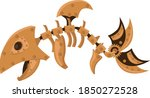 fish steampunk robot. unusual... | Shutterstock .eps vector #1850272528