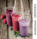 Trio Of Delicious Berry...