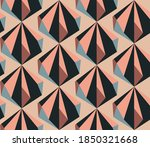 seamless geometric pattern with ...   Shutterstock .eps vector #1850321668