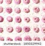 Pattern Made With Small Pink...