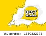 best sellers. loudspeaker alert ...   Shutterstock .eps vector #1850332378