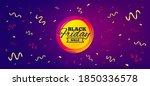 black friday sale sticker.... | Shutterstock .eps vector #1850336578