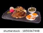 Amazing Gourmet Pork Steak On...