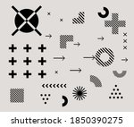 bauhaus inspired graphic design ...   Shutterstock .eps vector #1850390275