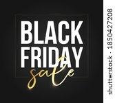 black friday sale social post... | Shutterstock .eps vector #1850427208