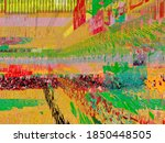 digital effects. multicolor...   Shutterstock . vector #1850448505