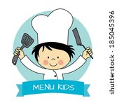 Illustration Of Little Chef Bo...