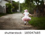 Cute Little Girl In Dress...