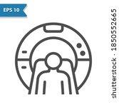 mri machine icon. professional  ...   Shutterstock .eps vector #1850552665