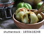Homemade Fermented Green...