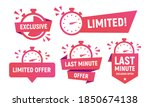 limited offer banners  stickers ... | Shutterstock .eps vector #1850674138