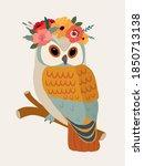 vector illustration of cute... | Shutterstock .eps vector #1850713138