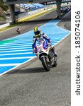 Постер, плакат: MotoGP motorcyclist Karel Abraham