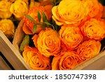 A Bouquet Of Yellow Orange...