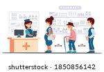 pharmacy during the coronavirus ... | Shutterstock .eps vector #1850856142