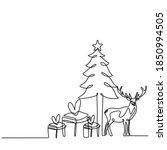 Christmas Trees And Deers...