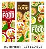 vietnamese food meals vector... | Shutterstock .eps vector #1851114928