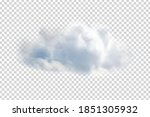 vector realistic isolated cloud ...   Shutterstock .eps vector #1851305932