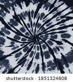 black gray color tie dye... | Shutterstock .eps vector #1851324808